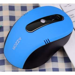 Rechargeable Wireless Mouse (Blue)