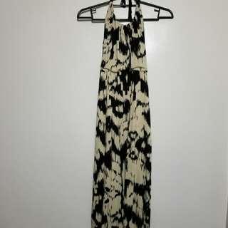 Miss Selfridge Haltered Style Maxi Dress