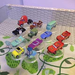 Disney Cars Collectibles Display Set