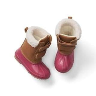 Duck style boots for toodler