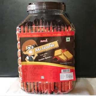 威化先生巧克力威化餅乾桶
