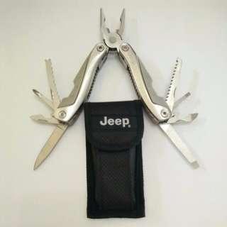 Jeep Silver Multipurpose / Multifunction Tool
