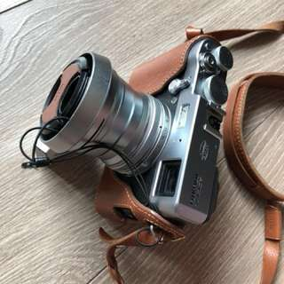 Fujifilm X100T 35mm f1.8 and additional 28mm lens