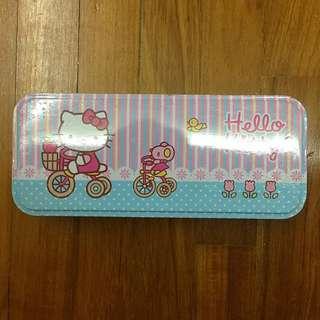 Hello Kitty Metal Box Pencil Case