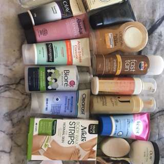 Bundle of skin products
