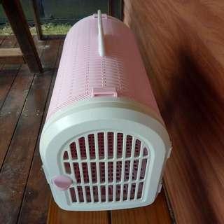 【代售】粉色寵物提籠(可背)🐶