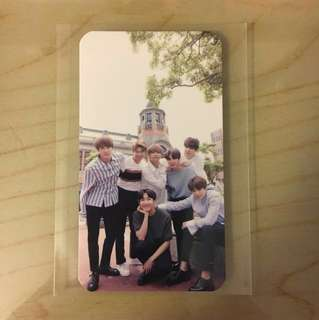( WTS / WTT ) BTS Wings Tour in Osaka Japan Official ARMY Kyocera Dome Photocard