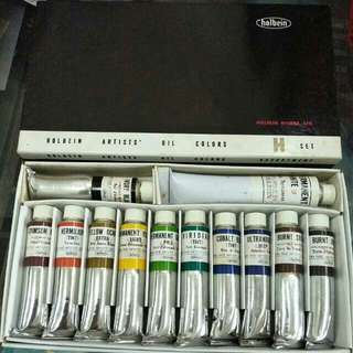HOLBEIN ARTISTS' OIL COLOURS - H Set