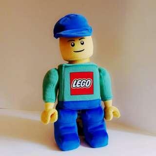 Lego 12吋 毛絨公仔  (裝置收藏品)