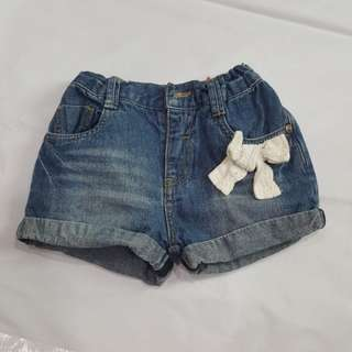Poney baby girl short