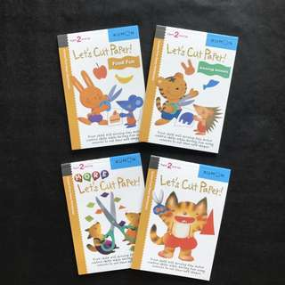 💥 NEW - Kumon - Let's Cut Paper! - Children Learning Activity Book