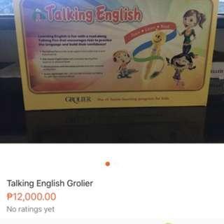 Grolier Talking English