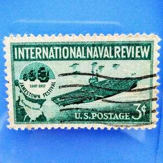 Stamp USA: Rare 1957 International Naval Review