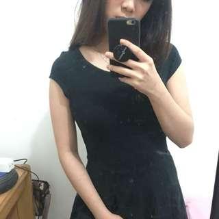 Black dress by Topshop