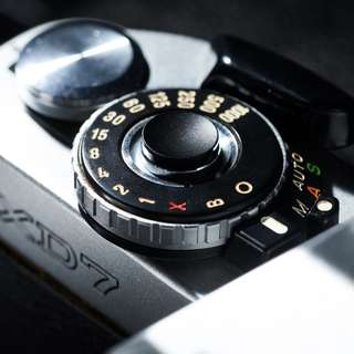 Selens Copper Shutter button [BLACK ANONDIZED, CONCAVE]