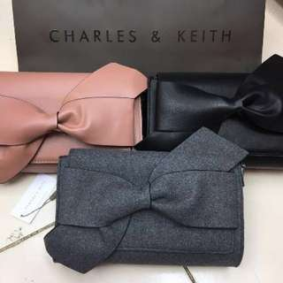 Original Charles & Keith Ribbon Slingbag