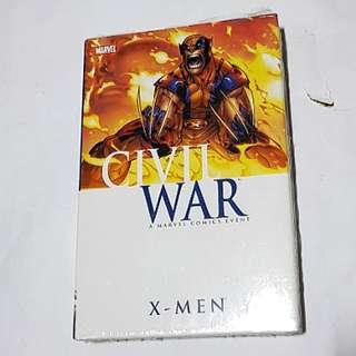 CIVIL WAR X-MEN HARDCOVER MARVEL COMICS