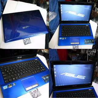 Asus A43s K43s i3 2nd Gen 500GB 4GB Nvidia 1G Notebook Laptop $305