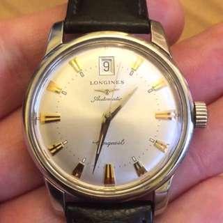 真品 浪琴LONGINES征服者系列 自動機械錶