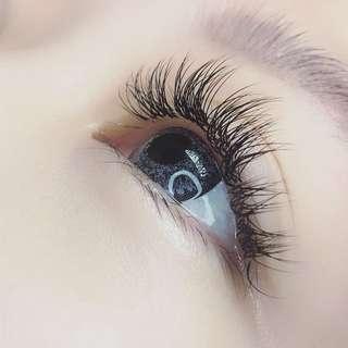 Classic Glam eyelash extensions