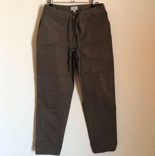 Jigsaw cotton pants