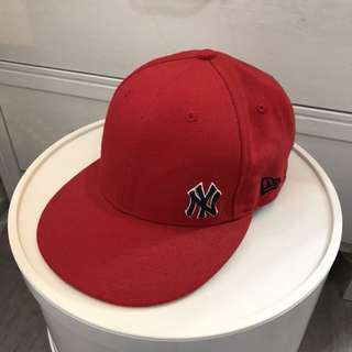 New era red cap brand new