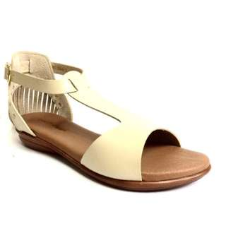 Darla Leather Sandals ( Beige )