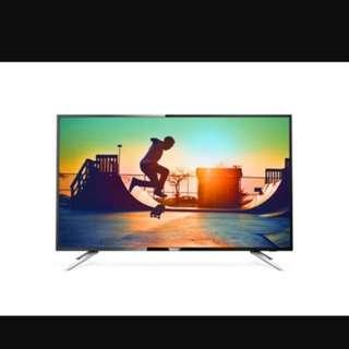 "Brand New Philips 55"" 4K UHD Smart LED Digital TV 55PUT6102(sealed)"