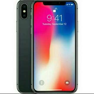 Iphone X 256Gb Grey New Kredit Hp Cepat Bunga 0%