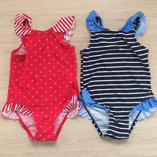 Baby Girl Swimsuit Set