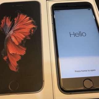 iPhone 6s 太空灰 64gb