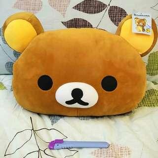 拉拉熊 暖手枕