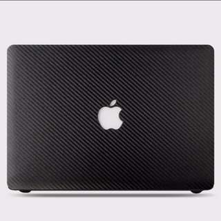 INSTOCK Carbon Fiber Macbook Hard Cover Case Casing