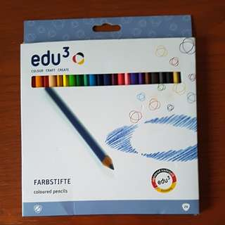 Edu3 water colour pencils