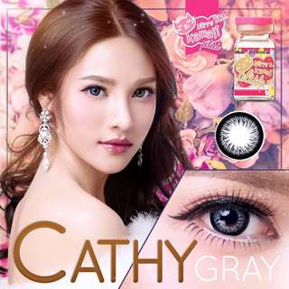 Cathy Series Contact Lens - Gray/Brown