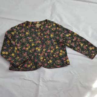 South China Sea floral coat cardigan