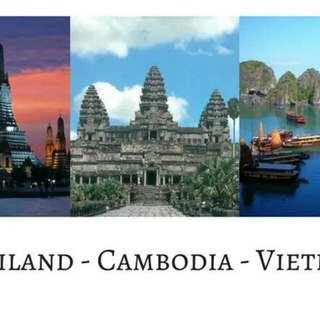 7D6N Tri City Bangkok-Siem Reap-Ho ChiMinh ALL IN