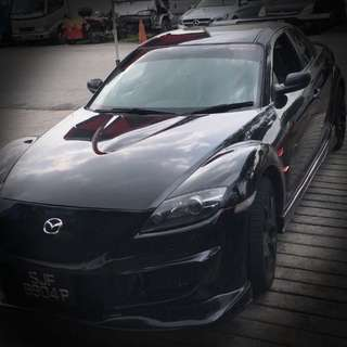 Sporty RX-8 for rent