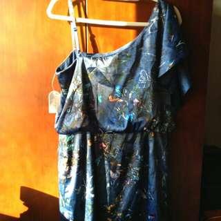 Jessica simpson blue dress