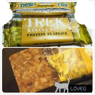 🍌TREK香蕉蛋糕味高蛋白質營養棒/ TREK Banana Bread Protein Flapjack