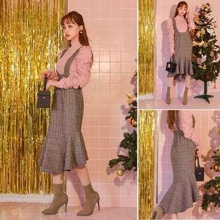 韓國品牌migunstyle 背心裙(2色)
