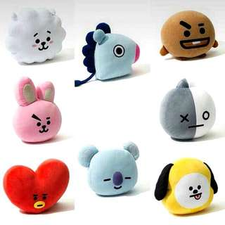BT21 OFFICIAL PLUSHIES