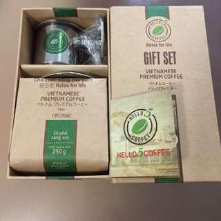 Vietnam coffee-organic 250g one set