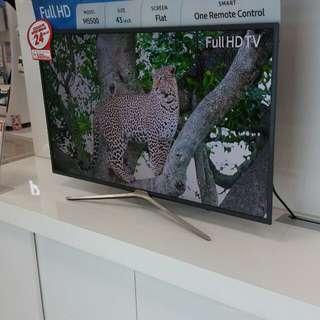 Led Smart Tv samsung 43 inch Full HD cash and credit