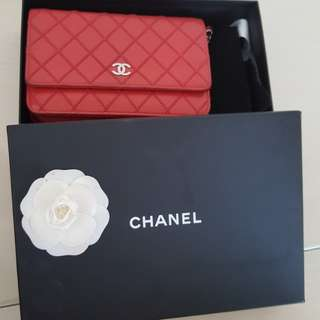 Authentic chanel woc sling bag
