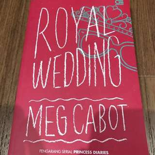 Meg cabot royal wedding