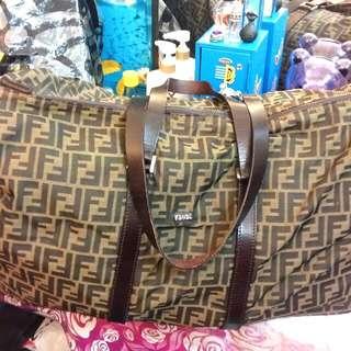經典Fendi復古大旅行袋(不議價珍藏品)