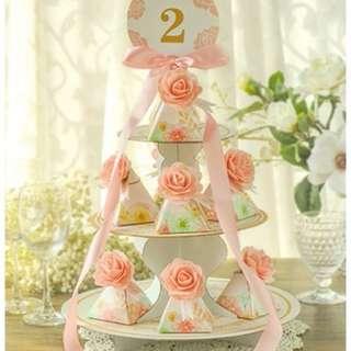 {多買多優惠}幸福承傳 婚禮用品回禮架 蛋糕架