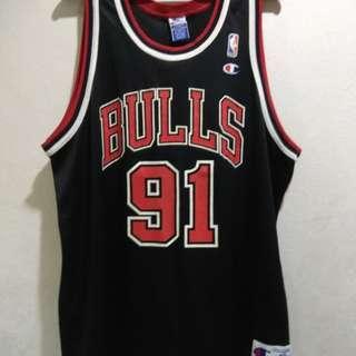 Chicago bulls dennis rodman Basketball Jersey