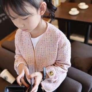 🚚 大童小香毛尼外套(圖3實品拍攝)現貨已售預購中